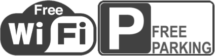 Free WiFi & parking
